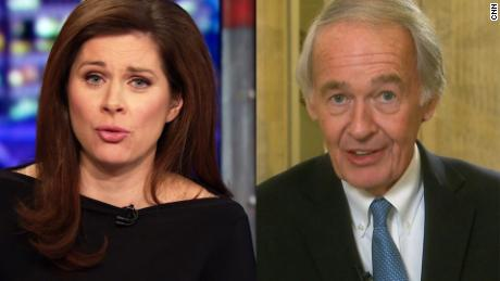 sen markey erin burnett split