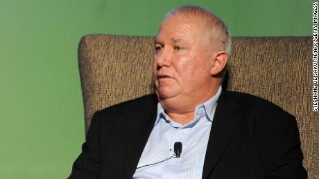 "Zimbabwean politician Roy Bennett participates in a talk with Peter Godwin (unseen), author of a new book critical of long-time Zimbabwean President Robert Mugabe ""The Fear : The Last Days of Robert Mugabe"" on November 18, 2010 in Johannesburg, South Africa.Roy Bennett, whose blocked appointment as deputy agriculture minister has threatened to halt the country's unity government. AFP PHOTO / STEPHANE DE SAKUTIN (Photo credit should read STEPHANE DE SAKUTIN/AFP/Getty Images)"