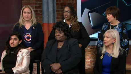 Female voters debate harassment allegations Trump camerota newday_00000000.jpg