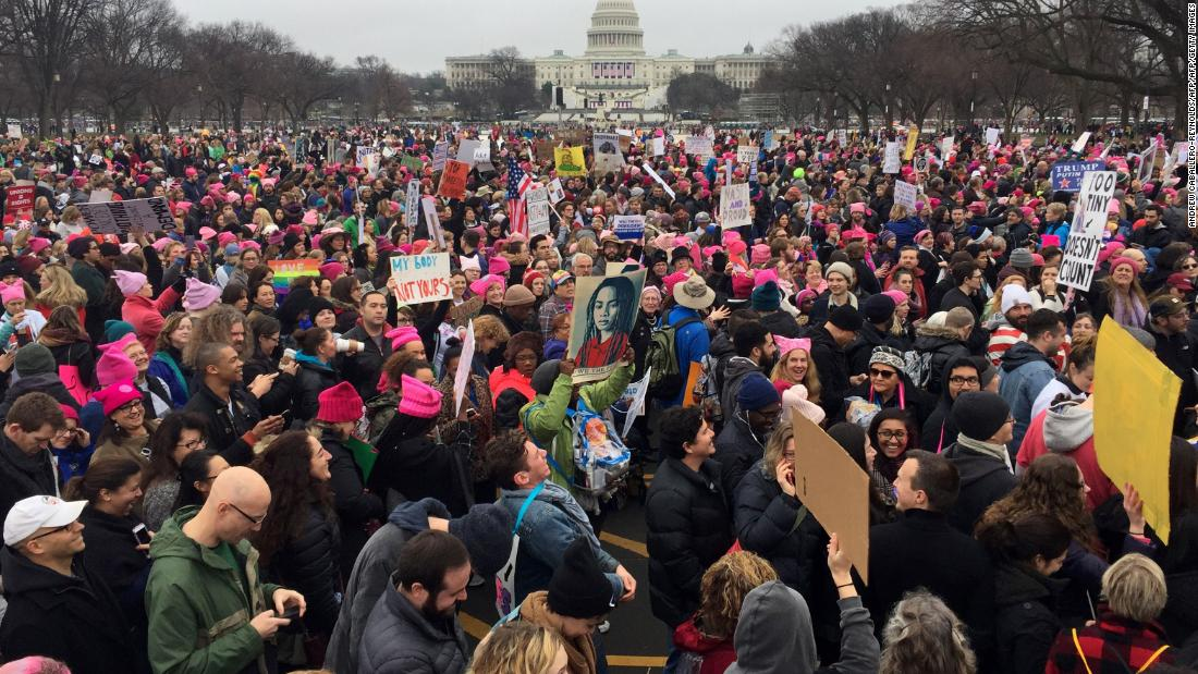 The Women's March: Live updates