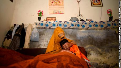 The mother and younger sister of a 15-year old whose brutal rape and murder in Haryana has shocked India this week.