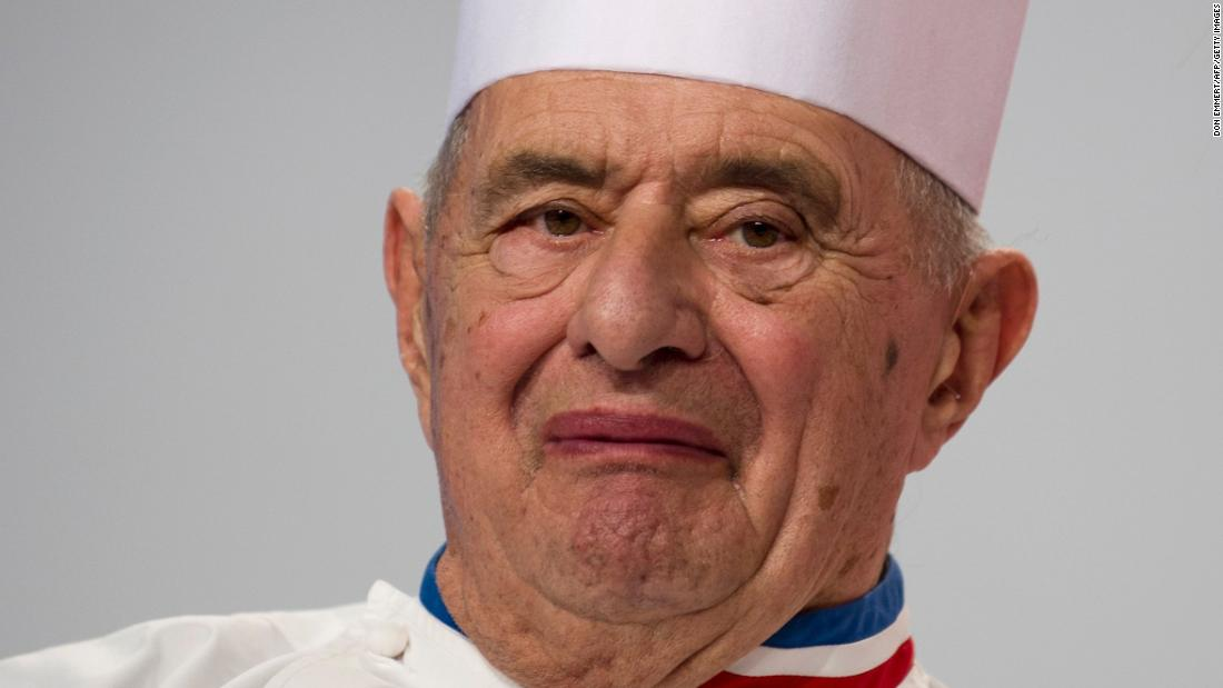 Renowned French chef Paul Bocuse dies