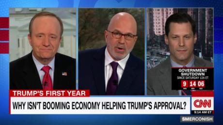 Why isn't booming economy helping Trump's approval?
