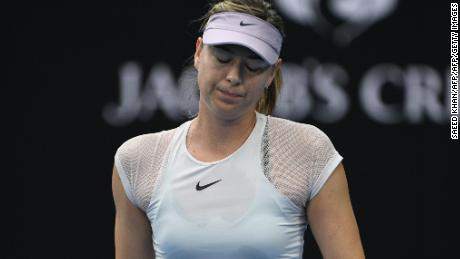 It just wasn't Maria Sharapova's day.
