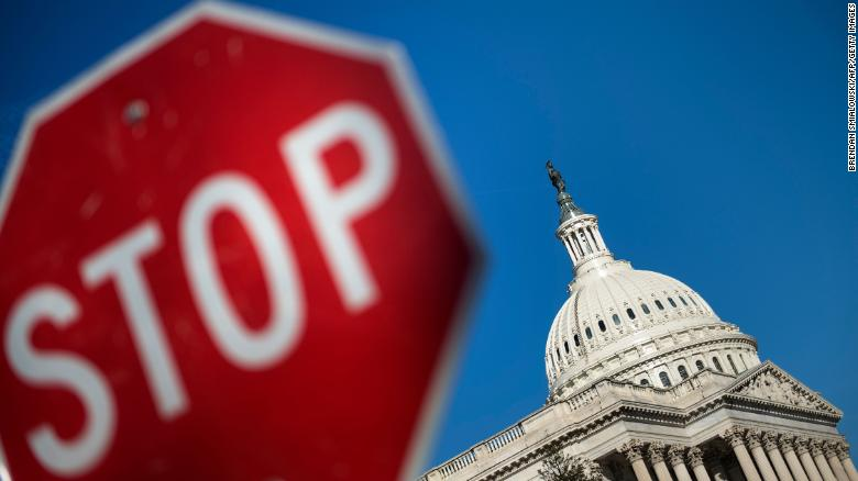 Shutdown heads into day two with divides deepening