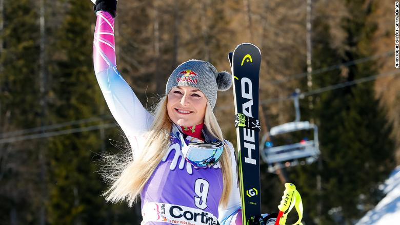 Lindsey Vonn dominates in Italy to win World Cup downhill race