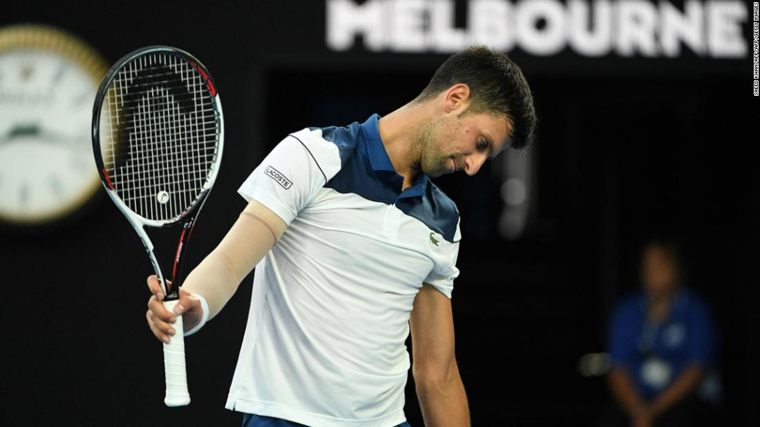 Novak Djokovic upset by 'Professor' Hyeon Chung at Australian Open