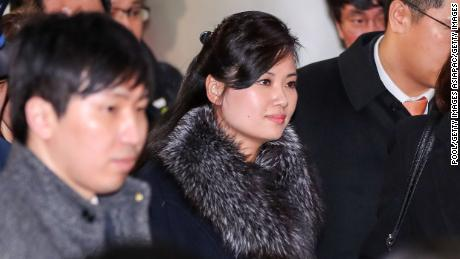SEOUL, SOUTH KOREA - JANUARY 22:  (SOUTH KOREA OUT) Hyon Song-wol, head of the North Korea's Samjiyon Orchestra, arrive at the Seoul Railway Station to check the venues for its proposed art performances at Pyeongchang 2018 Winter Olympics on January 22, 2018 in Seoul, South Korea. (Photo by Korea Pool/Getty Images)