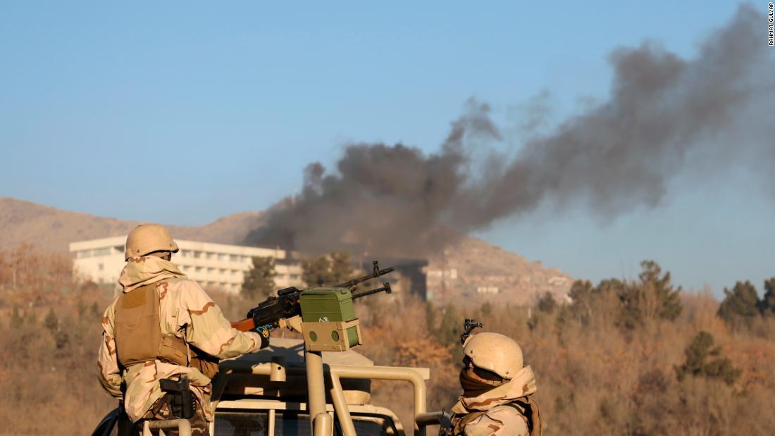 Kabul hotel siege: Journalist describes night of terror from inside