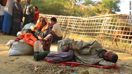 Rohingya are being sent back