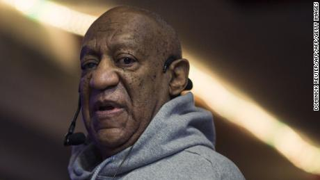 Comedian Bill Cosby makes an appearance at the Germantown neighborhood jazz club, La Rose, on January 22, 2018, in Philadelphia, Pennsylvania. Cosby returned to the stage for the first time in nearly three years Monday, just months before his scheduled retrial for alleged sexual assault. The 80-year-old pioneering African American actor and comedian took part in a special performance honoring drummer and jazz great, Tony Williams, his spokesman said. / AFP PHOTO / DOMINICK REUTER        (Photo credit should read DOMINICK REUTER/AFP/Getty Images)