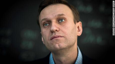 "Russian opposition leader Alexei Navalny looks on during an interview with AFP at the office of his Anti-corruption Foundation (FBK) in Moscow on January 16, 2018. The Kremlin's top critic Alexei Navalny has slammed Russia's March presidential election, in which he is barred from running, as a sham meant to ""re-appoint"" Vladimir Putin on his way to becoming ""emperor for life"". / AFP PHOTO / Mladen ANTONOV        (Photo credit should read MLADEN ANTONOV/AFP/Getty Images)"