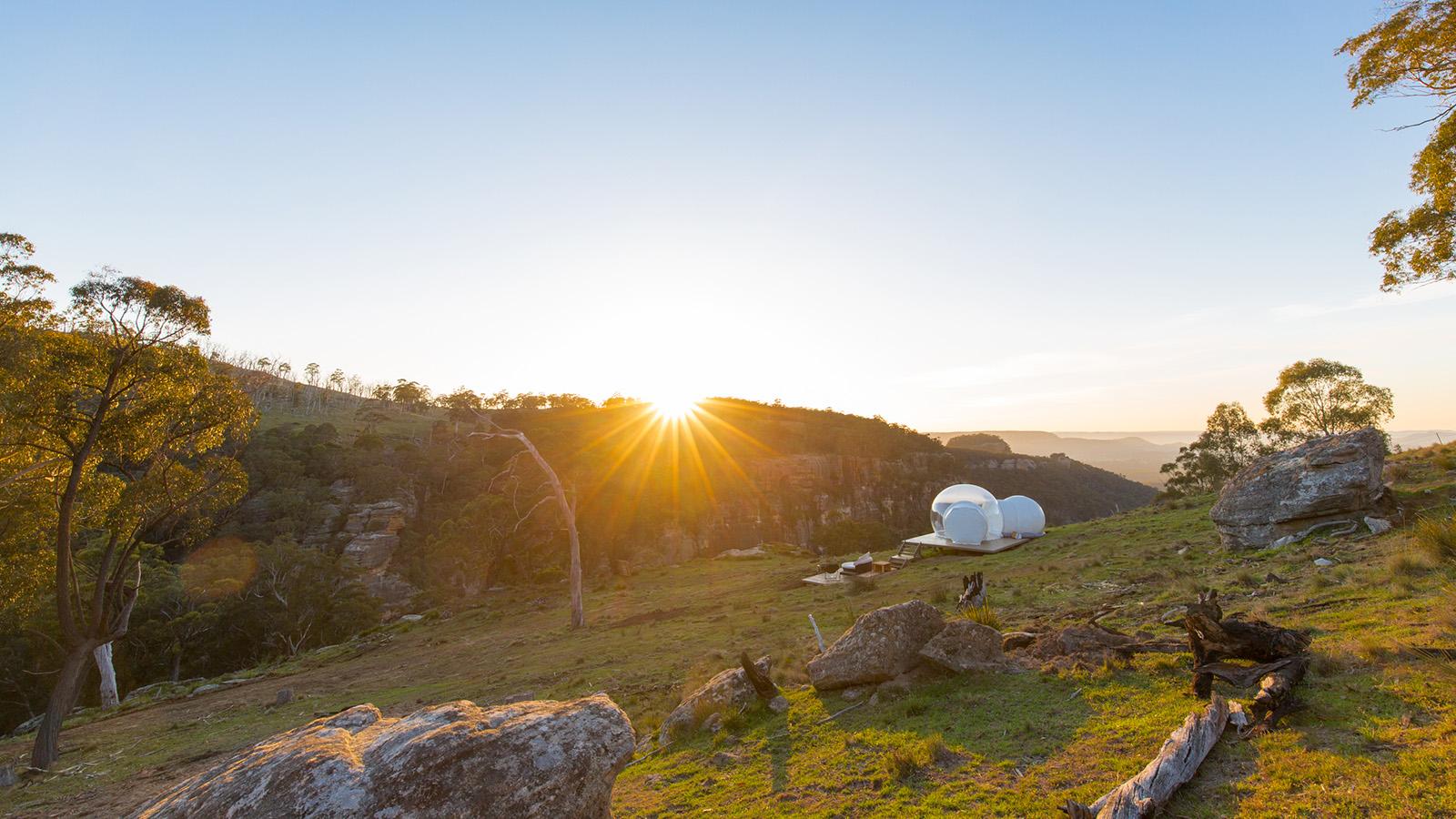 Bubbletent Australia, the ultimate skygazing experience