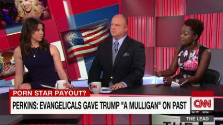 Evangelicals giving Trump 'mulligan' on his past