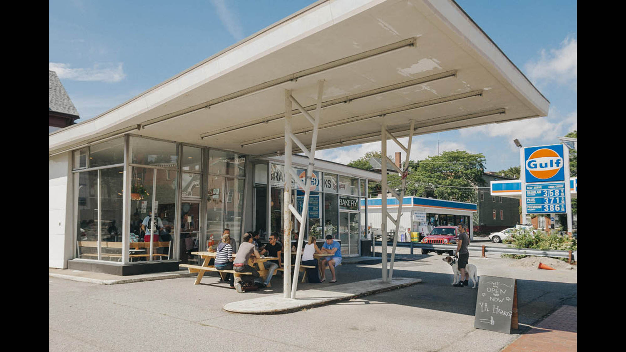 Old Gas Stations Converted Into Restaurants Bars Cnn Travel