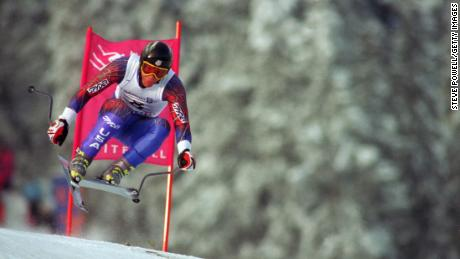 Tommy Moe won Olympic downhill gold in Lillehammer in 1994.