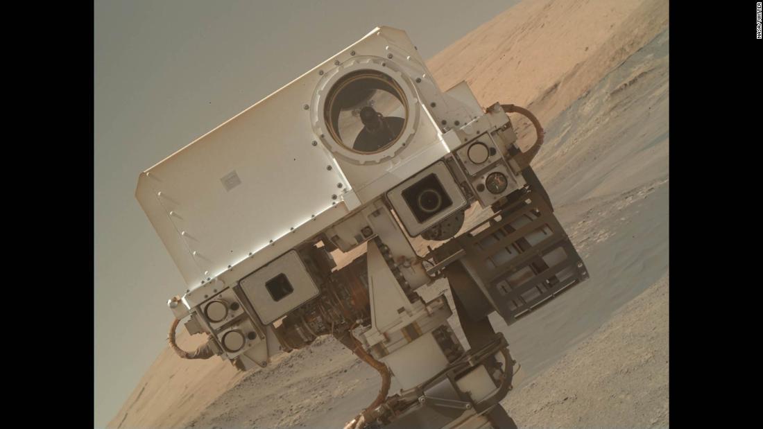 mars curiosity rover back online - photo #22