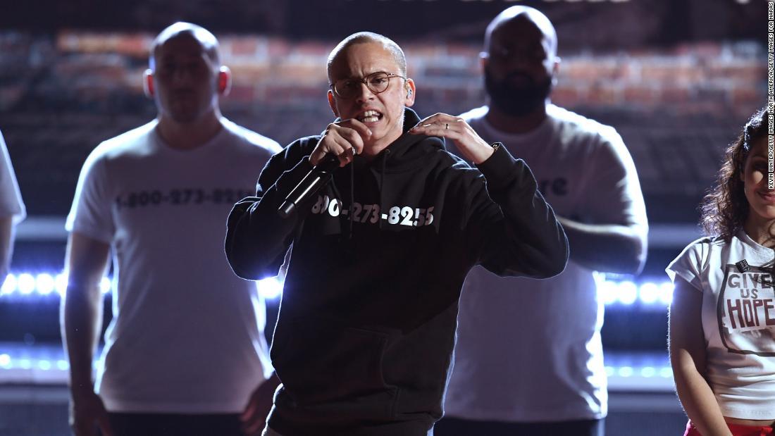 Logic's Grammy speech makes case for social justice