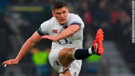 England and Lions fly-half Owen Farrell came through the U20s ranks
