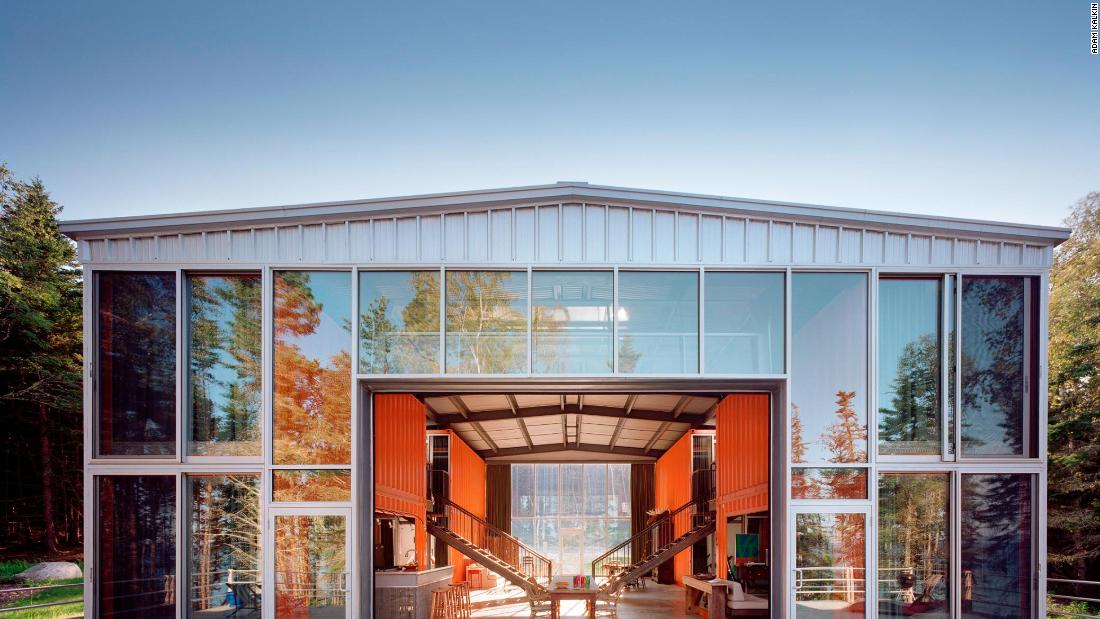 Stunning revival of the humble shipping container