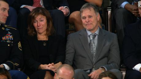 SOTU otto warmbier parents