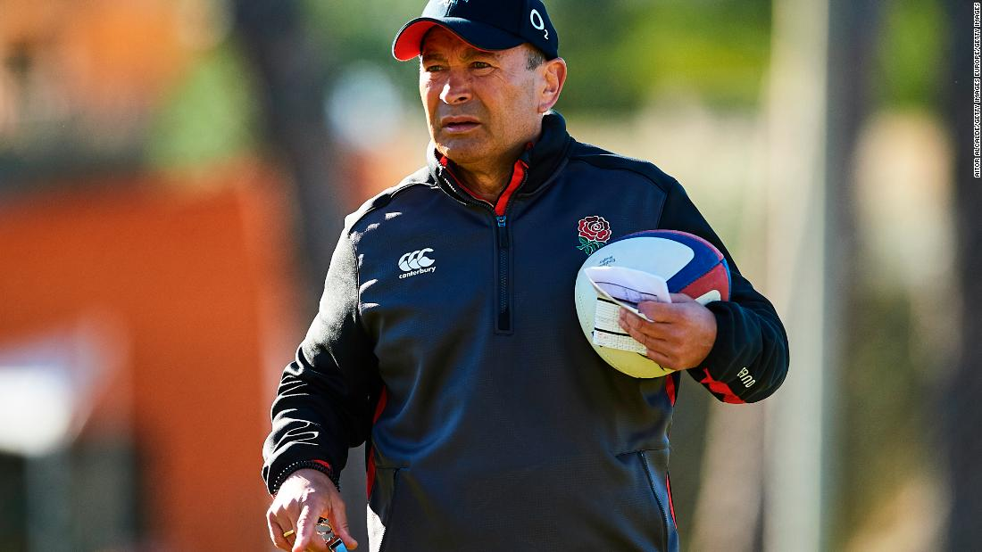 "Coach Eddie Jones boasts a remarkable record of 22 wins in 23 games. Having picked up the World Rugby <a href=""https://edition.cnn.com/2017/11/27/sport/world-rugby-awards-portia-woodman-black-ferns-monaco/index.html"">coach of the year award</a> at the end of 2017, he signed a new contract in January until 2021. This takes him through the 2019 World Cup in Japan."