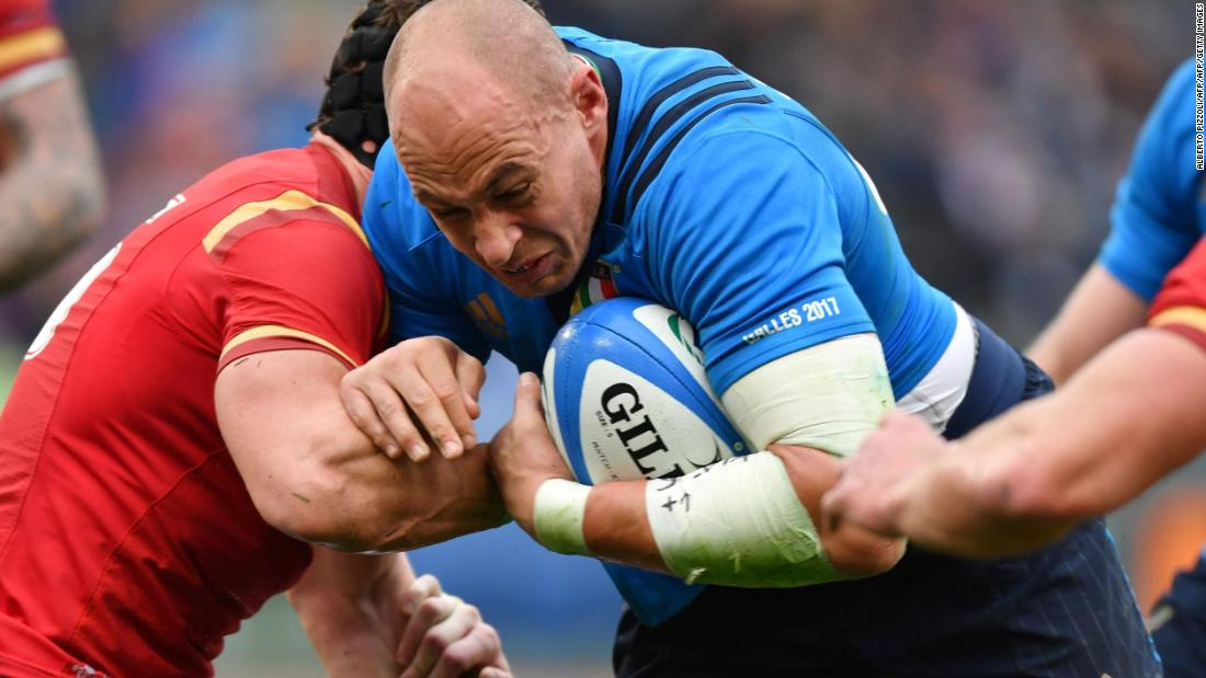 No. 8 and captain Sergio Parisse has been a warrior for Italian rugby for so many years. Despite numerous gargantuan performances for the Azzurri, he could become the first player ever to lose 100 Test matches.