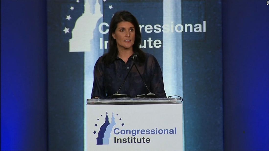 Haley slams Russia at GOP retreat