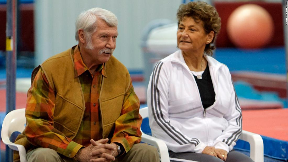 Bela and Martha Karolyi