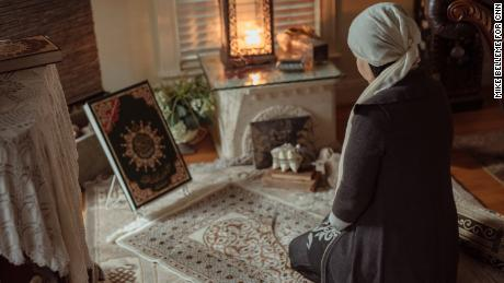 Layla watched as her beloved Syria descended into bloodshed and war. Then her son was killed. She finds solace in her faith.