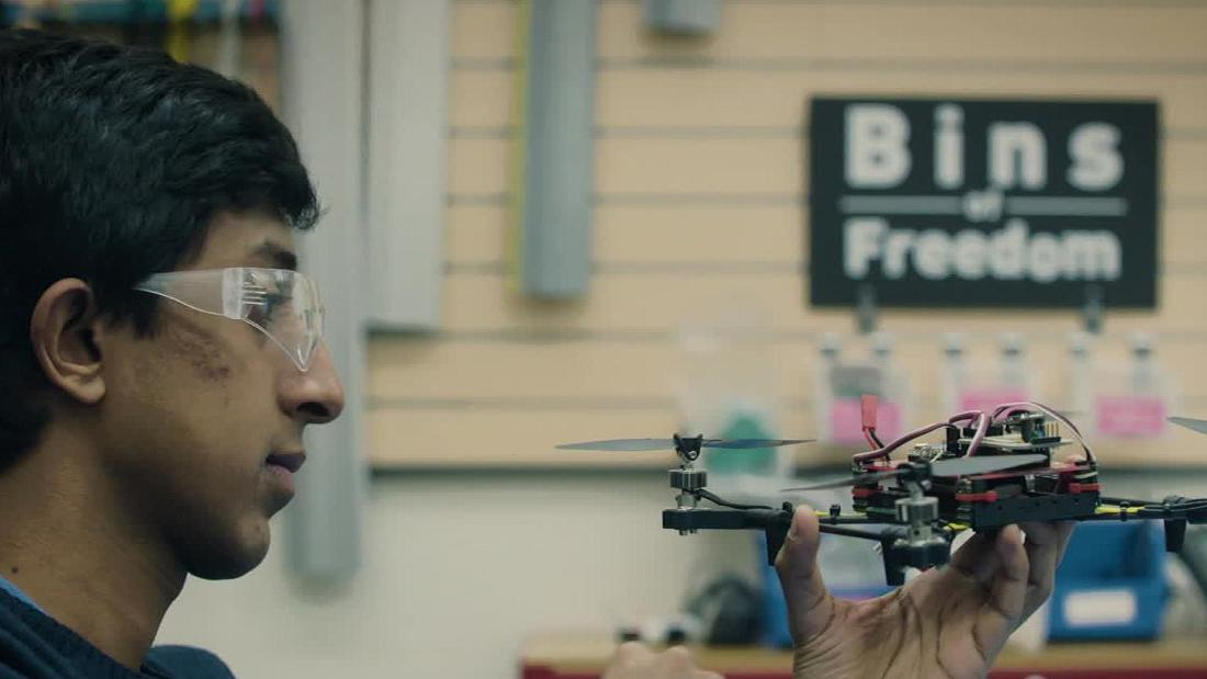 Mihir Garimella is making drones that go where humans cannot