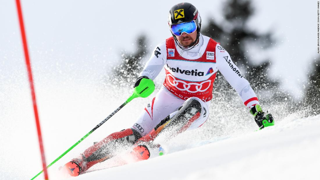 <strong>Marcel Hirscher (Austria):</strong> Hirscher has won a record six straight World Cup titles, and he's the defending world champion in the slalom and giant slalom. But despite his domination, he's still looking for his first Olympic gold medal. At the 2014 Sochi Games, he finished second in the slalom.
