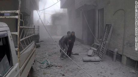 Deadly airstrikes pummel Syria's besieged Eastern Ghouta