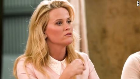 Reese Witherspoon talks about a past abusive relationship during an interview with Oprah Winfrey.