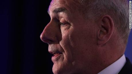 John Kelly sends staff email condemning domestic violence
