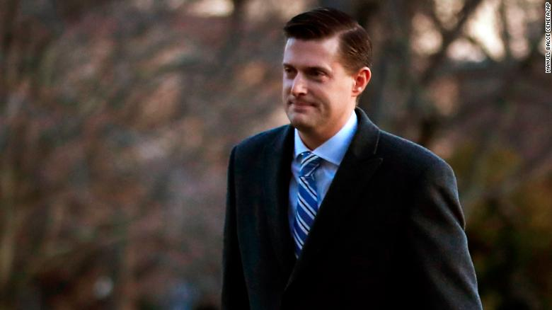 Rob Porter Blames Ex-Wife's Black Eye on Fall