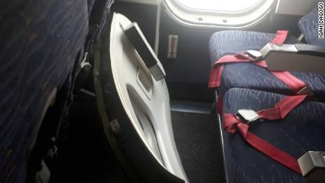 Dana Airlines emergency exit door falls off while landing in Abuja, Nigeria