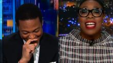 Don Lemon bursts into laughter over panelist