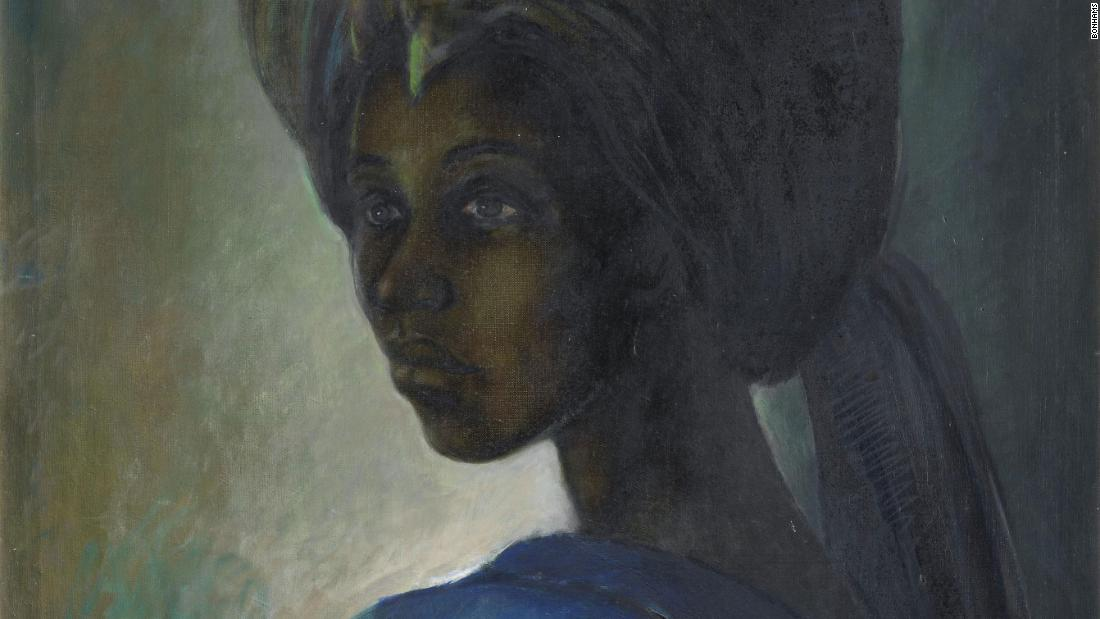 Ben Enwonwu's 'Tutu' painting found after decades
