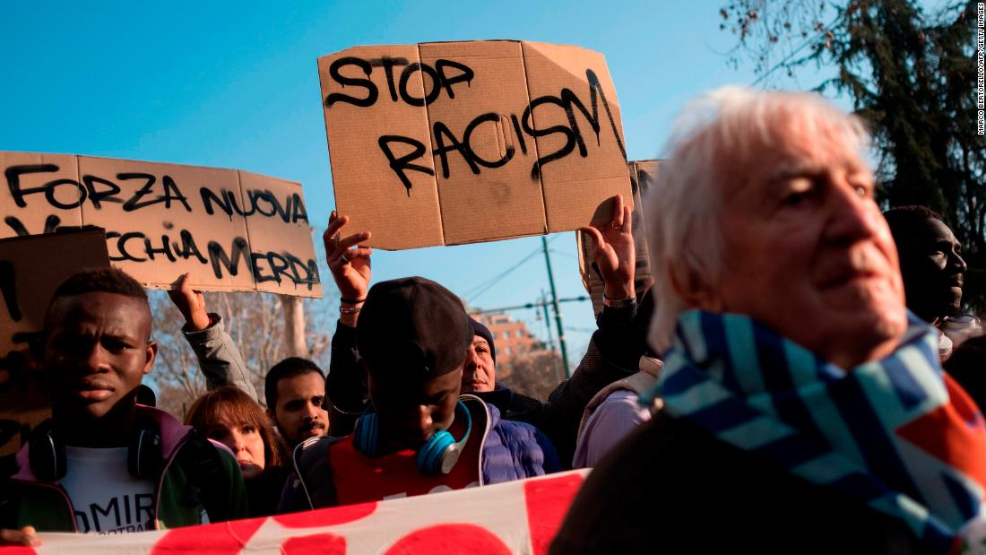Italians protest following shooting of African migrants