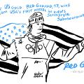 Red Gerard Olympics cartoon