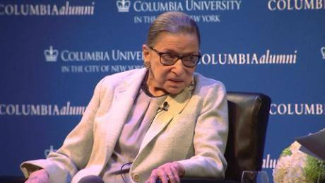 Ginsburg says the Consitution is a challenge
