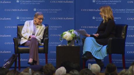 RBG: 'The pedestal you put women on is a cage'