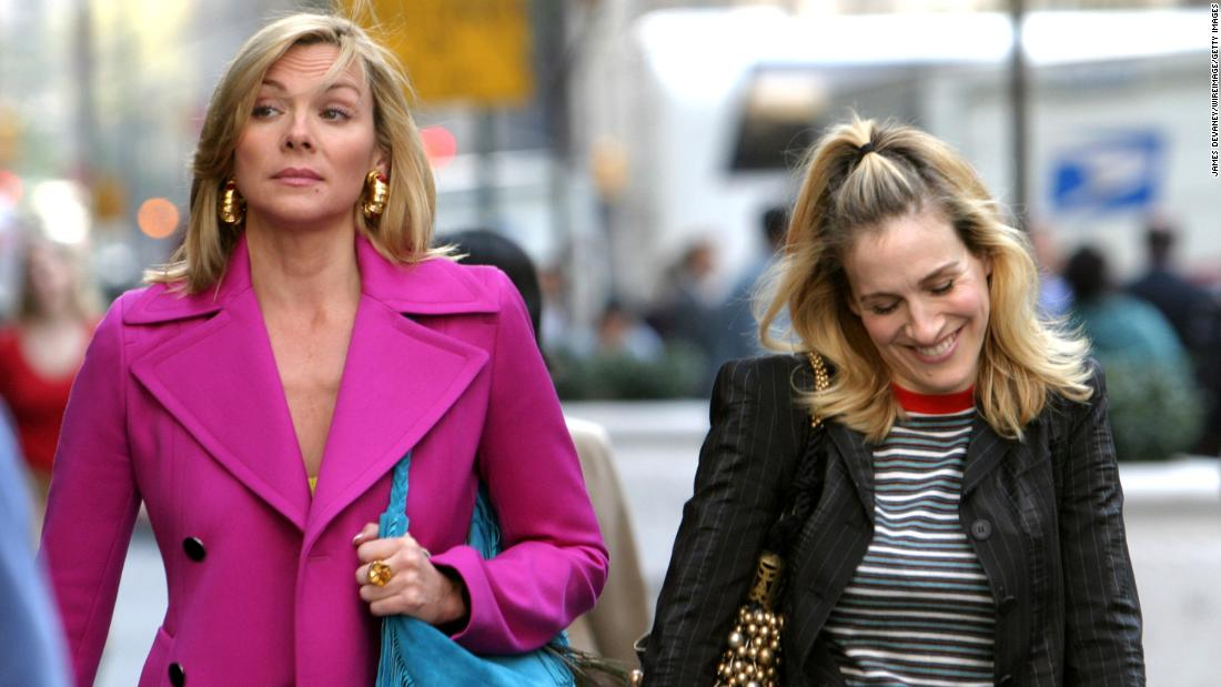 "Kim Cattrall and Sarah Jessica Parker were apparently better friends on ""Sex and the City"" than in real life. There had long been speculation that the pair were on bad terms and in February <a href=""https://www.instagram.com/p/BfBIPebAmFX/?taken-by=kimcattrall"" target=""_blank"">Cattrall slammed Parker on social media</a> for reaching out after the death of Cattrall's brother."