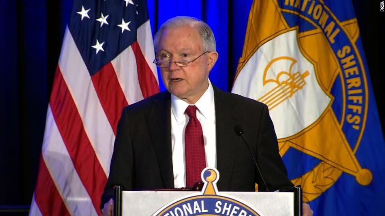Jeff Sessions speaks to 'Anglo American heritage' of sheriff's office
