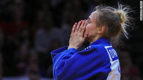 Ukraine's 17-year-old judo sensation.