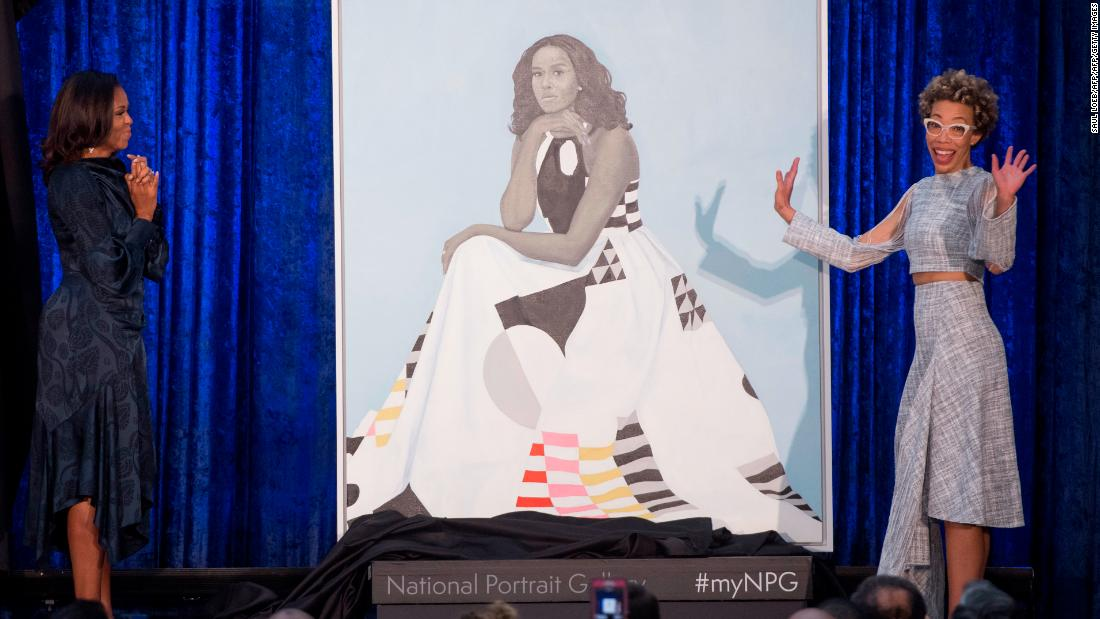 Michelle Obama's official portrait looks nothing like her ...