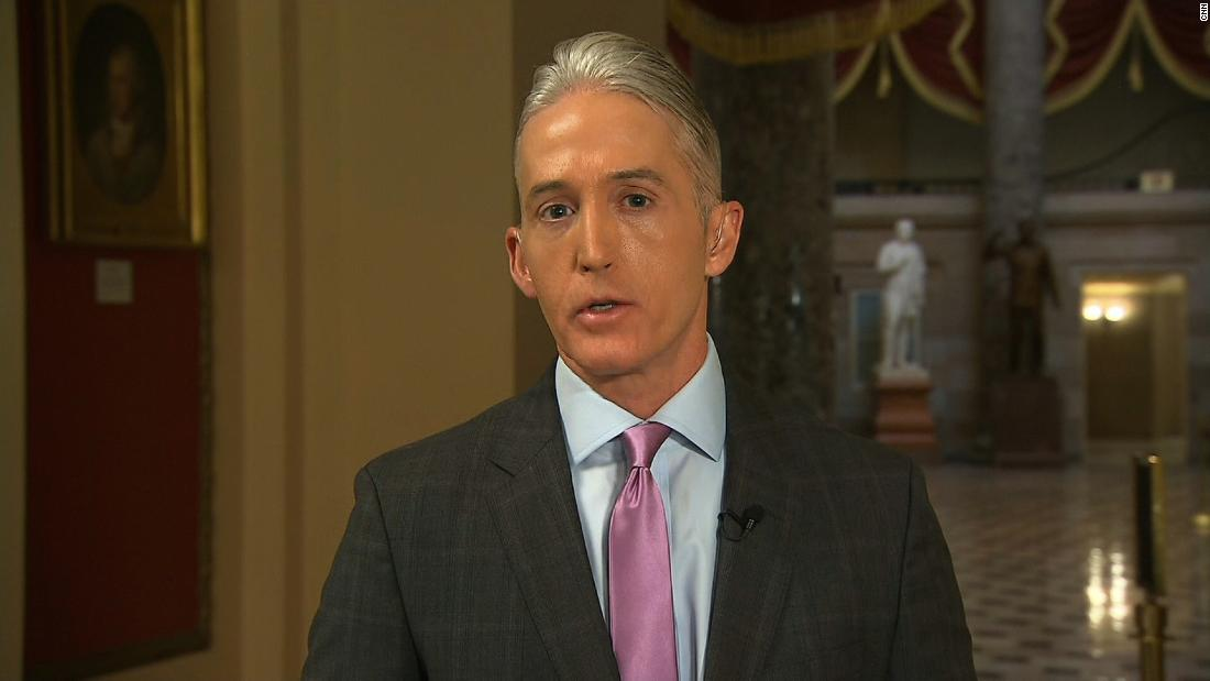 Gowdy: 'I like jobs where facts matter'