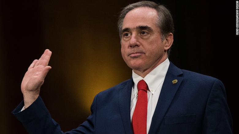 Trump considers firing veterans affairs secretary David Shulkin
