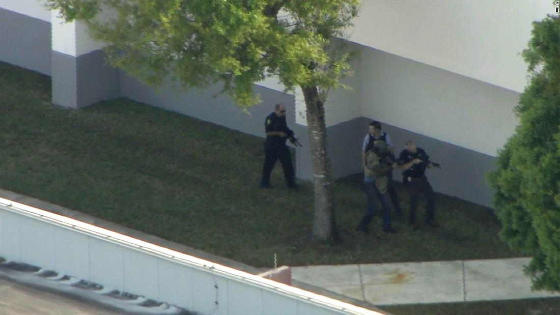 Coral Springs police upset at some Broward deputies for not entering school
